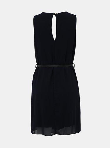Tmavě modré šaty s páskem Haily´s Tanja