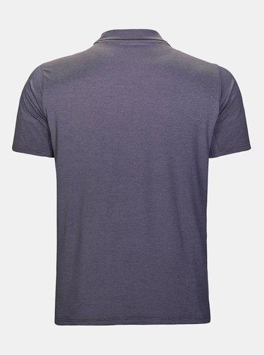 Šedé pánské polo tričko s potiskem killtec Kardamo