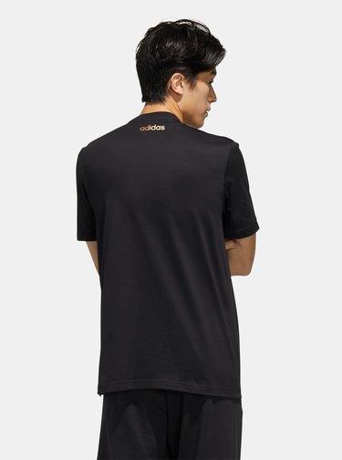 Čierne pánske tričko adidas CORE