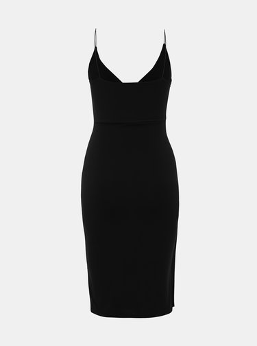 Čierne púzdrové šaty Haily´s Quinn