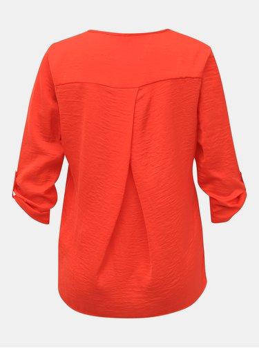 Oranžová dámská halenka Alcott