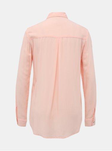 Světle růžová dámská košile Alcott