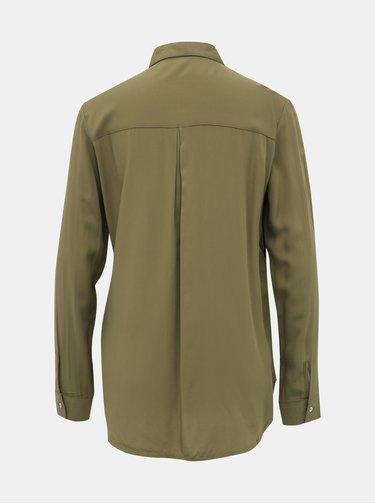 Khaki dámská košile Alcott