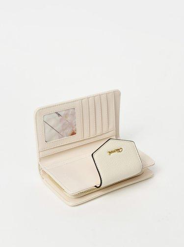 Krémová vzorovaná peněženka Gionni Dagari