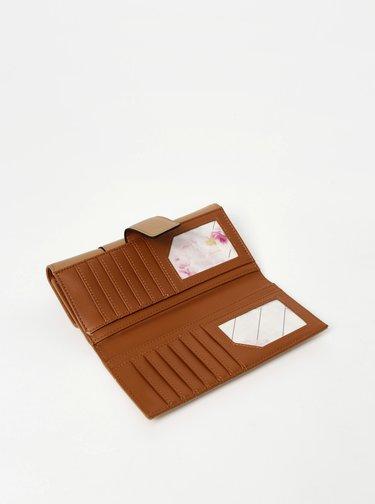 Hnědá peněženka Gionni Kara