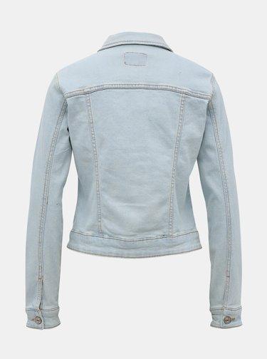 Světle modrá dámská džínová bunda Alcott