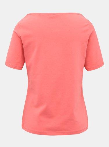 Ružové dámske basic tričko GANT