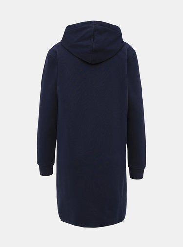Tmavě modré mikinové šaty GANT