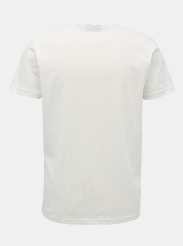 Krémové pánské tričko GANT