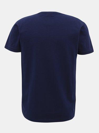 Tmavomodré pánske tričko GANT