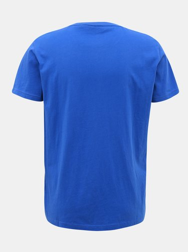 Modré pánské tričko GANT