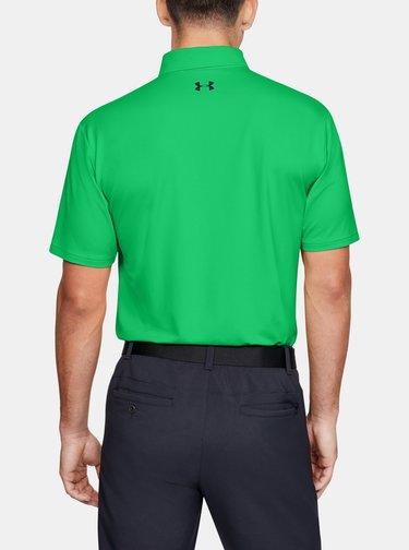 Zelené pánské polo tričko Performance Under Armour