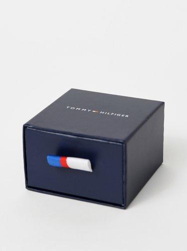 Náušnice v striebornej farbe Tommy Hilfiger
