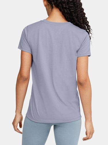 Fialové dámské tričko Under Armour