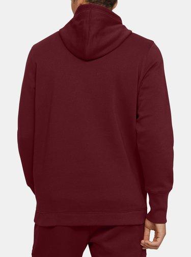 Červená pánská mikina Baseline Fleece Under Armour