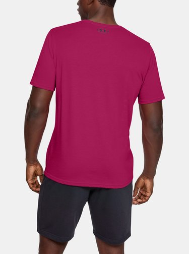 Růžové pánské tričko Sportstyle Under Armour