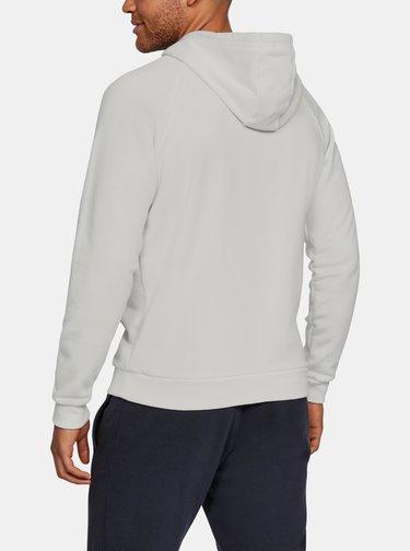 Bílá pánská mikina Rival Fleece Under Armour