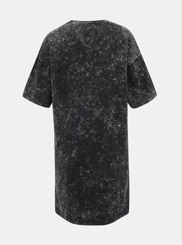 Černé šaty s potiskem Noisy May Weekend