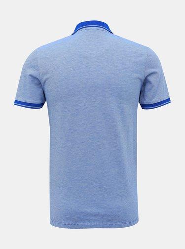 Modrá polokošeľa Selected Homme Joe