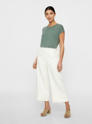 Tricouri basic pentru femei AWARE by VERO MODA - verde
