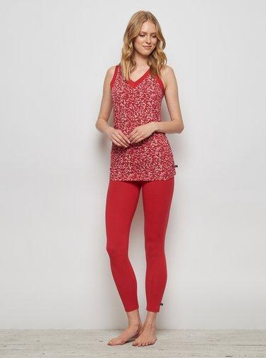 Pantaloni scurti, colanti, pantaloni basic pentru femei Tranquillo - rosu