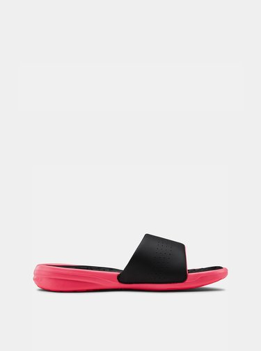 Černé dámské pantofle Under Armour
