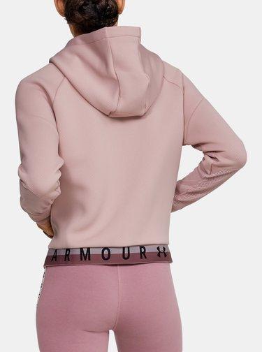 Růžová dámská mikina Move Under Armour