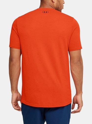 Oranžové pánské tričko Seamless Under Armour