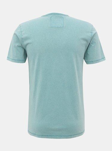 Zelené tričko s potiskem ONLY & SONS Casper