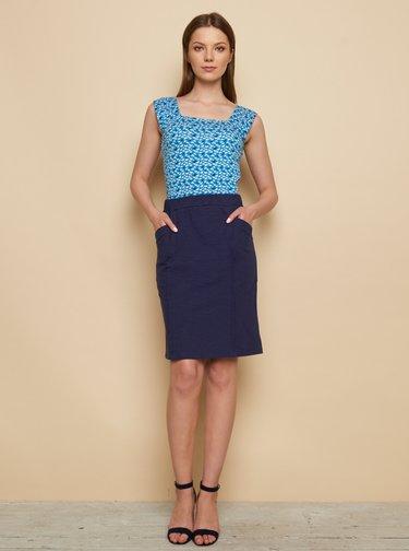 Tmavě modrá sukně Tranquillo