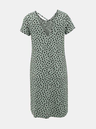 Zelené vzorované šaty ONLY Bera