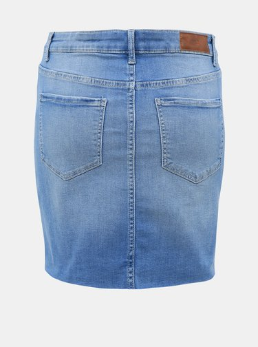Modrá džínová sukně VERO MODA Seven