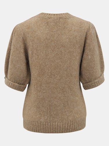 Hnedý sveter VERO MODA Diana