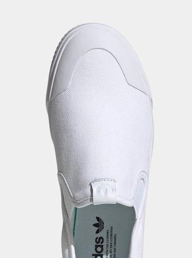 Bílé pánské slip on adidas Originals Nizza