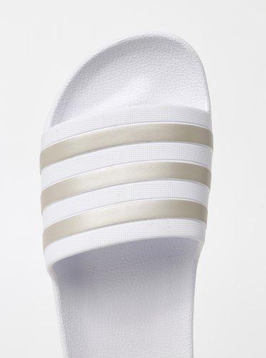 Bílé dámské pantofle adidas CORE