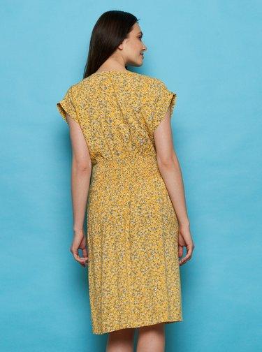 Žluté květované šaty Tranquillo Sua