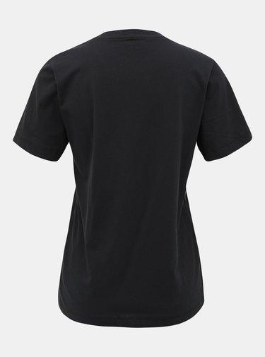 Černé dámské tričko s potiskem Pepe Jeans Brioni