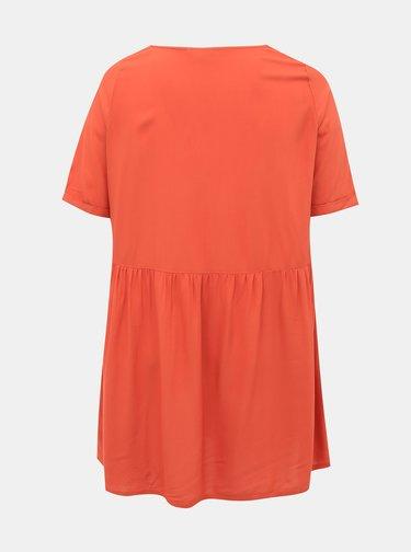 Cihlové šaty ONLY CARMAKOMA Bloom
