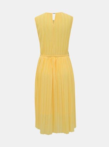 Žlté šaty ONLY Elema