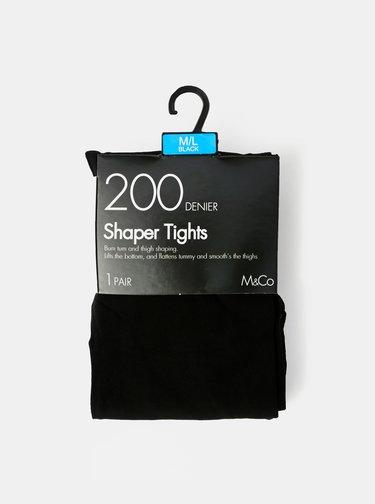 Čierne pančuchové nohavice M&Co 200 DEN