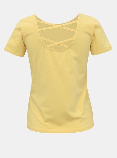 Žlué tričko ONLY Mathilde