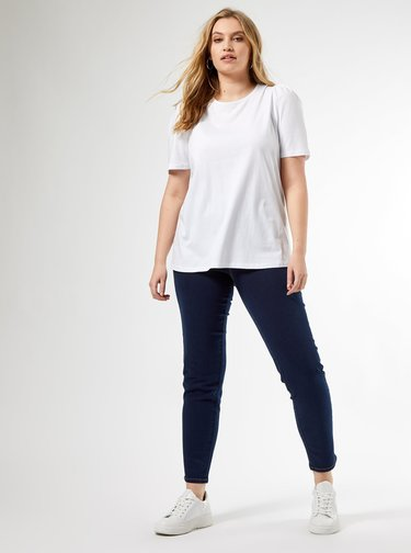 Bílé tričko Dorothy Perkins Curve