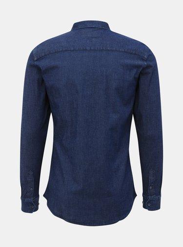 Tmavě modrá pánská košile Makia Archipelago