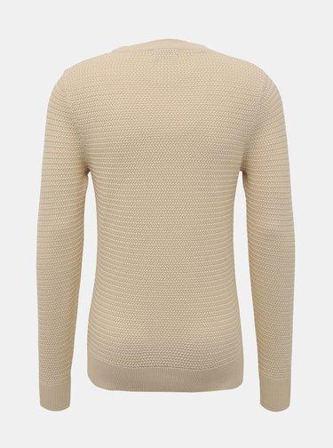 Béžový basic sveter Selected Homme Tommy