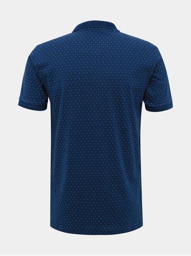 Tmavě modré vzorované polo tričko ONLY & SONS Keen
