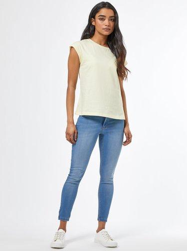 Modré skinny fit džíny Dorothy Perkins Petite