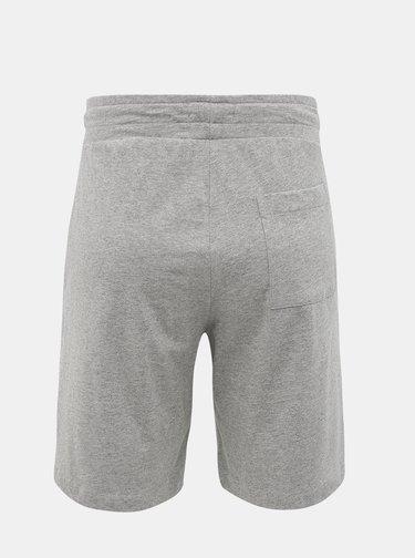 Šedé pánské teplákové kraťasy s potiskem Calvin Klein Underwear