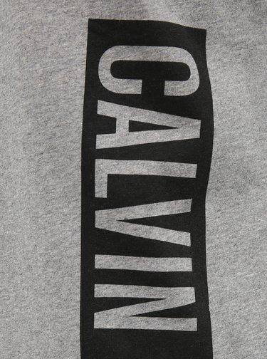 Šedé pánské tílko s potiskem Calvin Klein Underwear