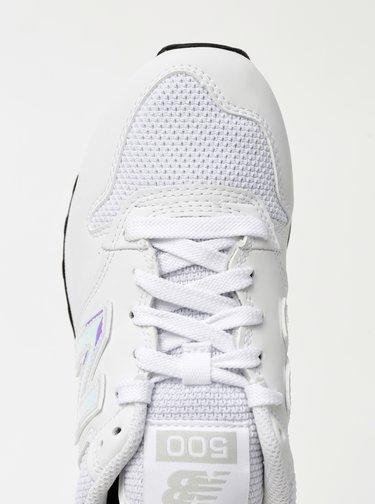 Bílé dámské tenisky New Balance 500