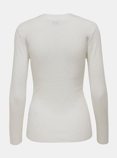 Bílé tričko Jacqueline de Yong Melani
